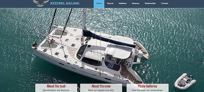 Kestrel Sailing