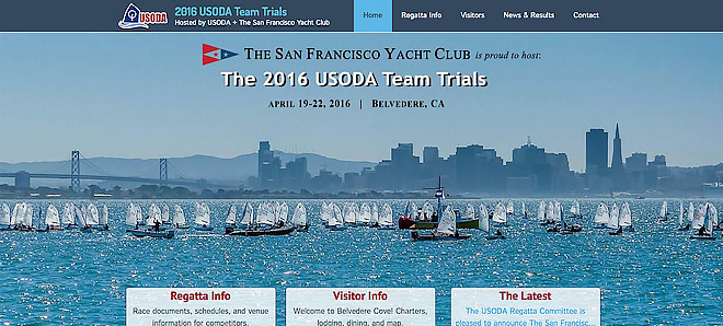 2016 USODA Team Trials at the San Francisco Yacht Club