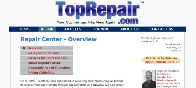 Top Repair - Countertops