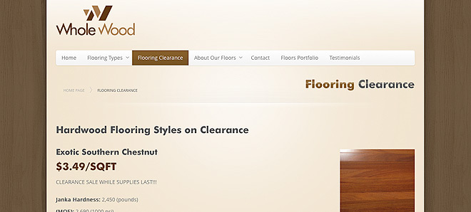 Whole Wood - San Francisco Bay Area Hardwood Flooring