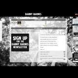 DannyBarnes.com - Redesign 2018