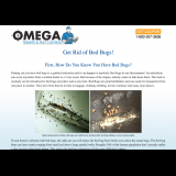 Omega Termite and Pest Control - Get rid of bed bugs!