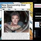 Anthony Ervin gets a new sponsorship deal.
