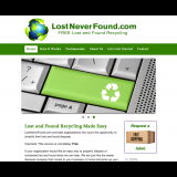 Home Page of LostNeverFound.com