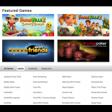 Games page, summer 2014