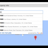 Integration with Google Maps helps prevent multiple entries.