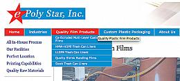 ePolyStar custom plastics and custom trash bags