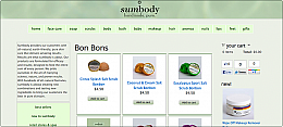 sumbody - natural cosmetics and body care