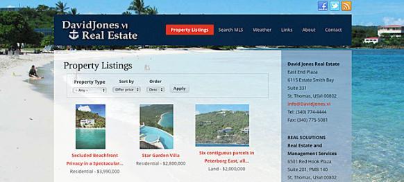 Virgin Islands Property Listings